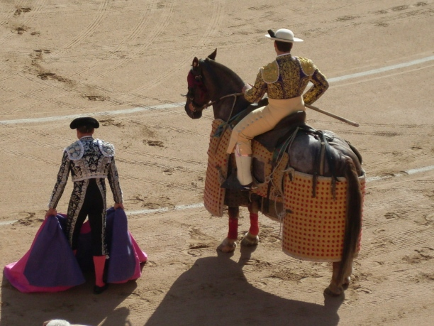 The last corrida in Barcelona.