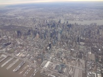 View of NYC from DL 2135 on December 27, 2011 at 0803