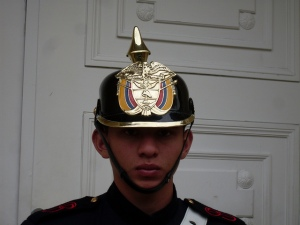 Guard in Colombia