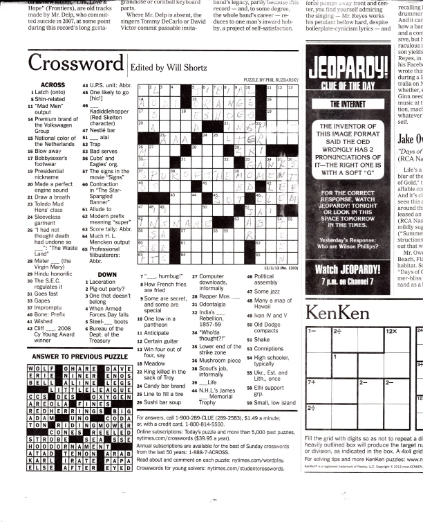 Crossword Puzzle_20140115_0001