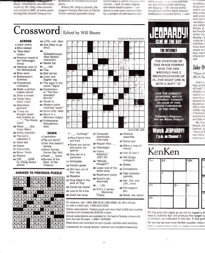 Crossword Puzzle_20140115_0001