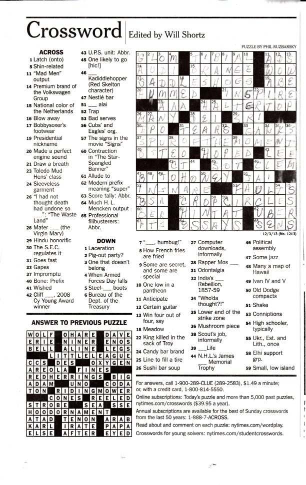 Crossword Puzzle_20140115_0003