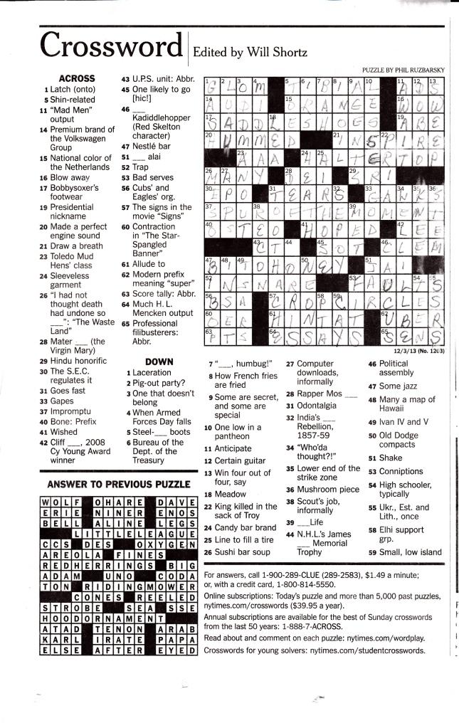 Crossword Puzzle_20140115_0003